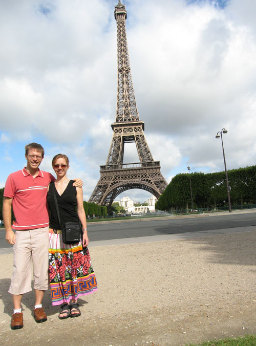 Fiona and Paul in Paris