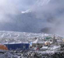 Coming into basecamp