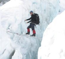 Photos of climbing on Everest