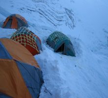 Our tents at camp 3
