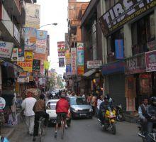 Another street scene in Kathmandu