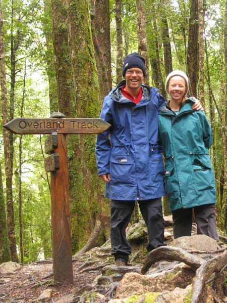 On the Overland Track near Windy Ridge hut. Photo Paul Adler
