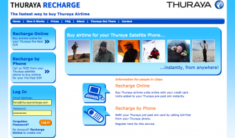 Thuraya Recharge